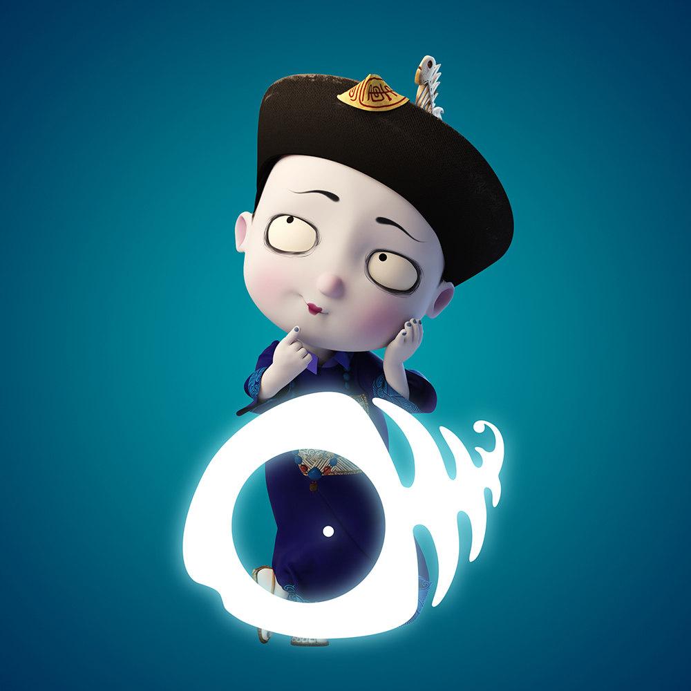 《叫我僵小鱼》系列动画,讲述一只无公害无污染,乖巧暖萌的小僵尸被