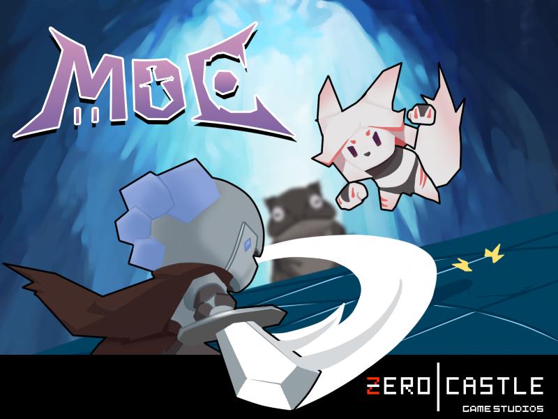 可爱剪纸风《MoE:Melee of Excitement》多人乱斗游戏