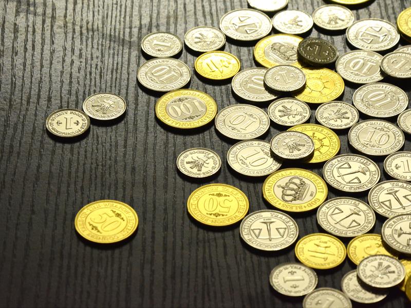 桌游通用金属代币