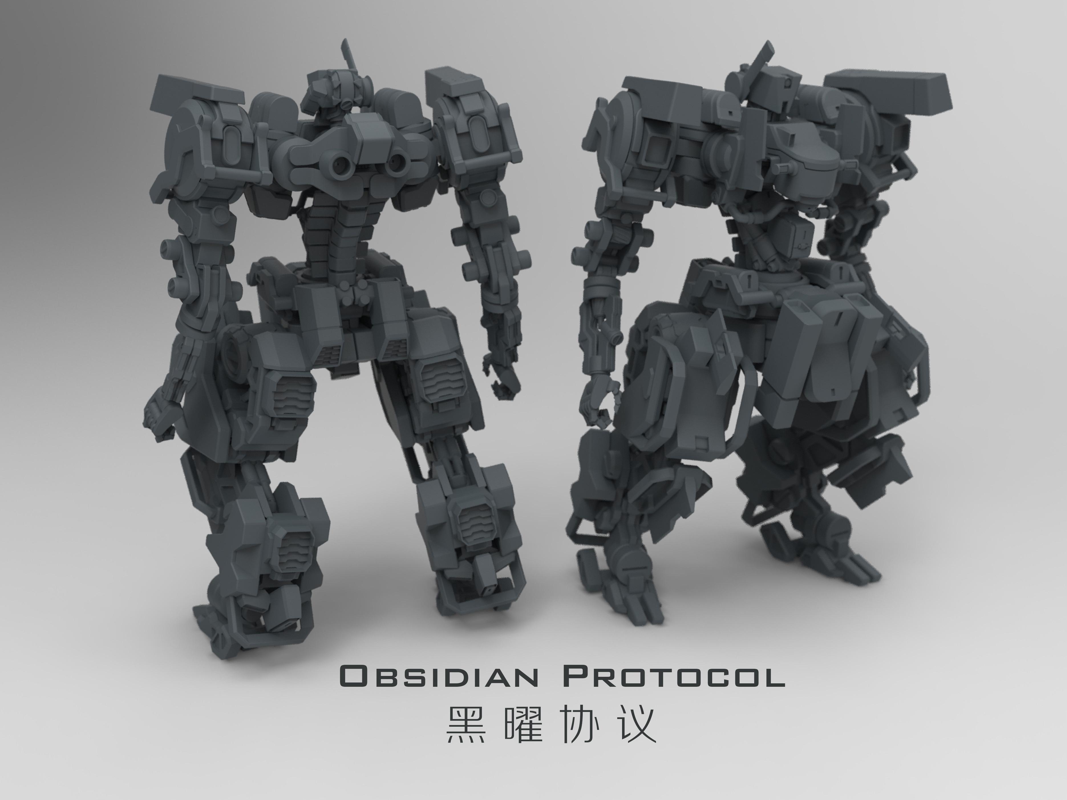 《Obsidian Protocol》黑曜协议