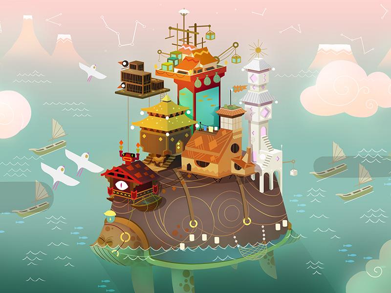 舟游:国风奇幻冒险