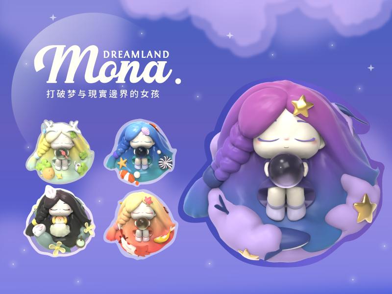Mona潮玩盲盒