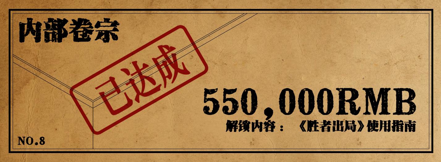 众筹解锁项目55W达成.JPG